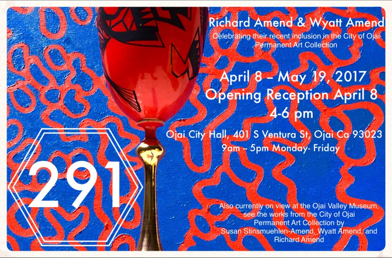 Richard and Wyatt Amend to Exhibit at City Hall Gallery