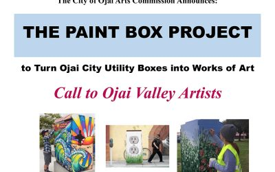 Applications for the City of Ojai Arts Commission THE PAINT BOX PROJECT now available.